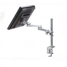 Držák pro LCD monitor na stůl, max 10kg, 3 klouby, délka ramene 62cm, VESA 75x75/100x100mm
