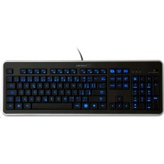 CONNECT IT Klávesnice CI-45 s LED podsvícením, USB