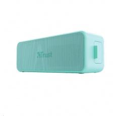 TRUST bezdrátový reproduktor Zowy Max Stylish Bluetooth Wireless Speaker, mint/tyrkysová