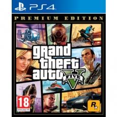 Hra pre Playstation 4 GTA V PREMIUM EDITION hra PS4