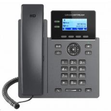 """Grandstream GRP2602W [VoIP telefon - 2.21"""" 132 x 48 grafický,  4x SIP účet, 2x RJ45 10/100 Mbps, PoE]"""