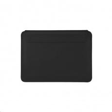 COTEetCI PU tenké pouzdro s magnetickým zapínáním pro Apple Macbook Pro  & Air 13 černá