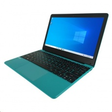 "UMAX NTB VisionBook 12Wr Turquoise - 11,6"" IPS FHD 1920x1080,Celeron N4020@1,1 GHz,4GB,64GB,Intel UHD,W10P,Modro-zelená"