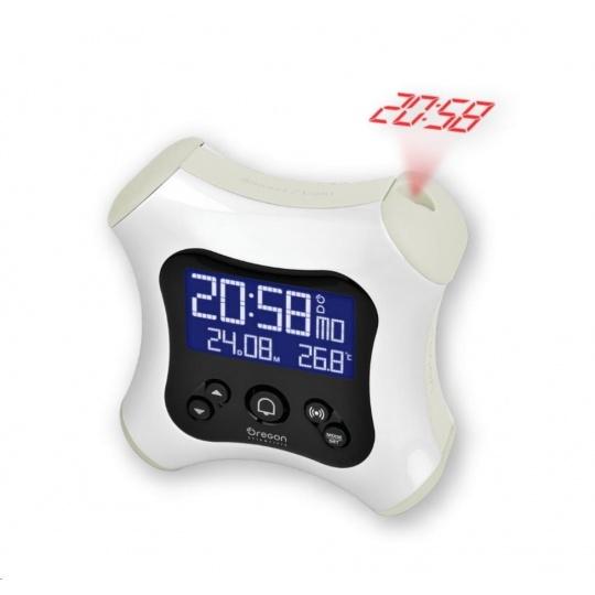 Oregon RM330PW - digitální budík s projekcí času
