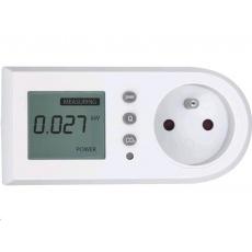 Extol Light měřič spotřeby el. energie - wattmetr, kW, kWh, CO2 43900