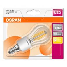 OSRAM LED STAR CL P Filament 6W 827 E14 806lm 2700K (CRI 80) 15000h A++ (Blistr 1ks)