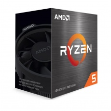 CPU AMD RYZEN 5 5600X (12-pack), 6-core, 3.7 GHz (4.6 GHz Turbo), 35MB cache (3+32), 65W, socket AM4, Wraith Stealth