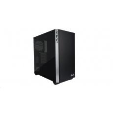 IN WIN skříň 216, mid tower, 220mm PSU, 166mm fan,, 2xHDD, 5xSSD, 2x USB 3.0 / HD Audio / Black