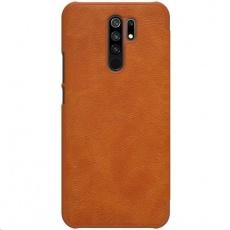 Nillkin Qin Leather Case pro Xiaomi Redmi 9 Brown
