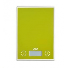 Laica digitální kuchyňská váha zelená 5kg