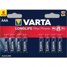 Batéria LR03 8BP AAA Longlife Max Power VARTA