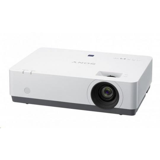 SONY projektor VPL-EX455 3,600lm, XGA, 20000:1, 2X RGB, 2X HDMI, USB, S-Video, Video in, RJ45, RS232