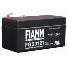 Baterie - Fiamm FG20121 (12V/1,2Ah - Faston 187 - 48mm), životnost 5let