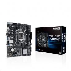 ASUS MB Sc LGA1200 PRIME H510M-K, Intel B510, 2xDDR4, 1xHDMI, 1xVGA, mATX