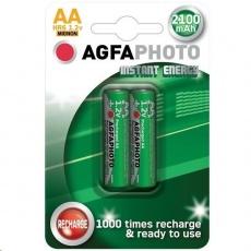 AgfaPhoto přednabitá baterie AA, 2100mAh, 2ks