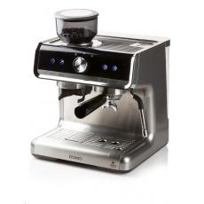 Domo DO720K Pákové espresso s mlýnkem 15 bar, 2 páky, pěnič