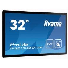 iiyama ProLite TF3215MC-B1AG, 80cm (31,5''), Projected Capacitive, Full HD, black