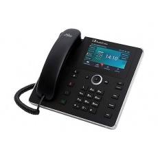 AudioCodes IP telefon 450HD, grafický displej, 10/100/1000 Mbps, PoE, černá