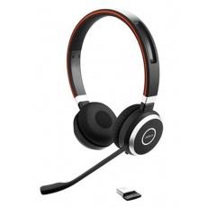 Jabra bezdrátová náhlavní souprava Evolve 65 UC, stereo, MS