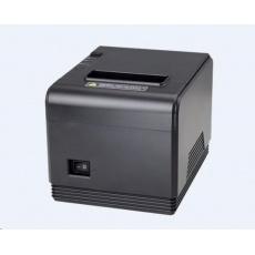 Birch CP-Q3 Pokladní tiskárna s řezačkou, USB + Bluetooth, černá, tisk v českém jazyce