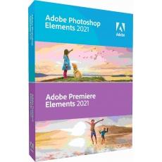 Photoshop Elem/Premiere Elem 2021 WIN CZ ESD COM Lic 1+ (150)