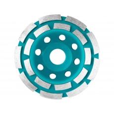 Total TAC2421151 Kotouč diamantový brusný dvouřadý, 115x22,2mm
