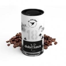 Zrnková káva Jáva 120 g zrnková káva DOBRAKAVA
