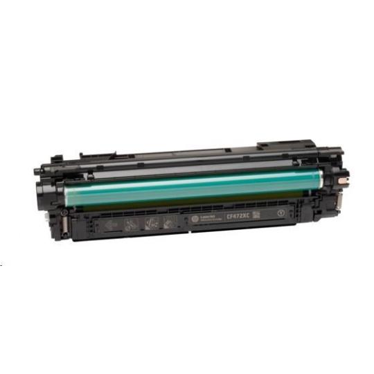 HP 657X High Yield Yellow Original LaserJet Toner Cartridge (CF472X)