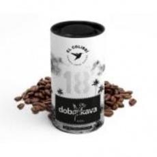 Zrnková káva Etiópia 120 g zrnková káva DOBRAKAVA